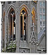 The Church Tower Acrylic Print
