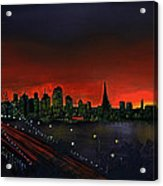 The City By The Bay Acrylic Print