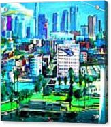 The City Of Angels Acrylic Print