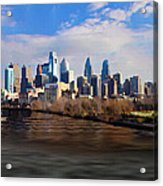 The City Of Brotherly Love Acrylic Print