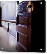 The Classroom Door Acrylic Print