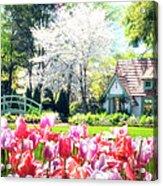 The Claude Monet Small House Acrylic Print