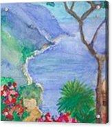 The Coast Of Italy Acrylic Print