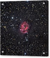 The Cocoon Nebula Acrylic Print by Roth Ritter