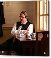The Colonial Actor Acrylic Print