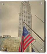 The Colors Flying In New York Acrylic Print