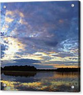 The Colors Of Morning  Acrylic Print