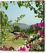 The Colors Of Paros Acrylic Print