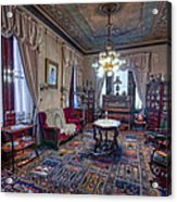 The Copper King's Music Room - Butte Montana Acrylic Print
