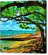 The Cove Acrylic Print