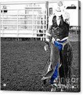 The Cowboy II Acrylic Print
