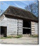 The Cowfold Barn Acrylic Print