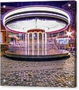 The Crazy Carousel Acrylic Print