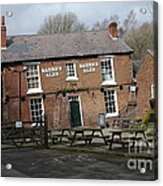 The Crooked House Acrylic Print