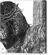 The Cross Acrylic Print