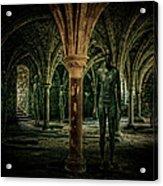 The Crypt Acrylic Print