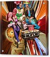 The Cupcake Carnival Girls Acrylic Print