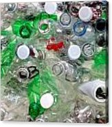 The Cycle Of Recycling Acrylic Print
