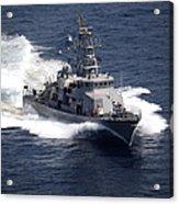 The Cyclone-class Coastal Patrol Ship Acrylic Print