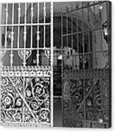 The Dakota Gates In Black And White Acrylic Print
