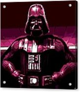 the Dark Side is Strong Acrylic Print