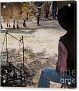 The Day Liberty And Justice Came Into Camp Acrylic Print