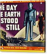 The Day The Earth Stood Still, Lock Acrylic Print by Everett