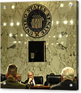 The Department Of Defense Address Acrylic Print