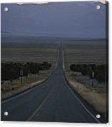 The Desolate Highway 50 Acrylic Print