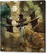 The Dharma Of The Dragonfly Acrylic Print