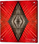 The Diamond Of Courage Acrylic Print