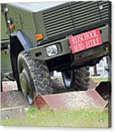 The Dingo 2 Mppv Of The Belgian Army Acrylic Print