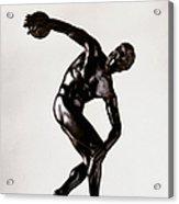 The Discobolus Acrylic Print