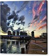 The Dockyard Acrylic Print