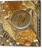 The Dome Of Hagia Sophia Acrylic Print