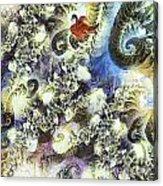 The Dream Swan Acrylic Print by Odon Czintos