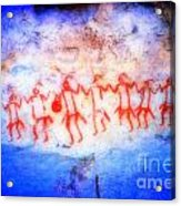The Drum Dance Acrylic Print