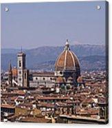 The Duomo Florence Acrylic Print