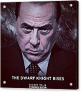 The Dwarf Knight Acrylic Print