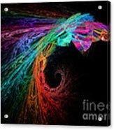 The Eagle Rainbow Acrylic Print