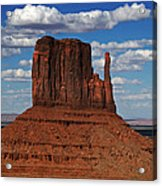 The East Mitten Butte Acrylic Print