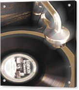The Edison Record Player Acrylic Print