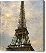 The Eiffel Tower Acrylic Print by Laurie Search