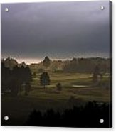 The Eighteenth Hole Acrylic Print