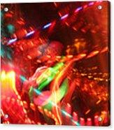 The Electric Cosmos      Nebula Traffic Jam Acrylic Print by Artist Orange