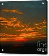 The Electric Sky  Acrylic Print