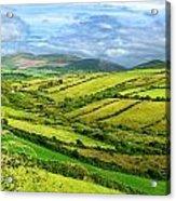 The Emerald Island Acrylic Print