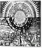 The Emerald Tablet, 1618 Acrylic Print