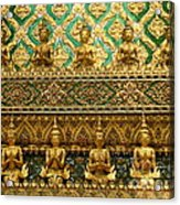 The Emerald Wall Of Prayer Acrylic Print
