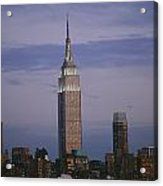 The Empire State Building Towers Acrylic Print